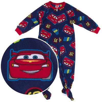 Cars WGP 95 Footed Pajamas for Toddler Boys