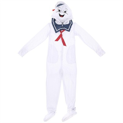 Stay Puft Marshmallow Man Footed Pajamas for Men