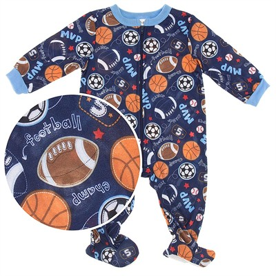 Sports Footie Pajamas for Baby Boys