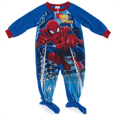 Spider-man Footie Pajamas for Toddler Boys