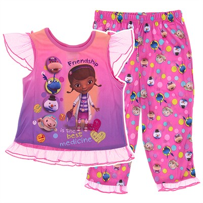 Pink Doc McStuffin and Friends Pajamas Set for Toddler Girls