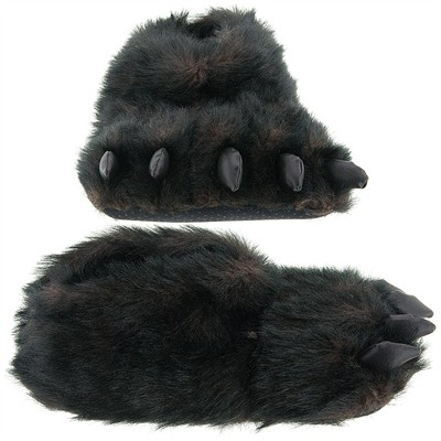 Animal Paw Slippers. Treat yourself to fun animal paw hereufilbk.gq from tiger paws, polar bear paws, black bear paws, pink paws, and more. Plush animal claw slippers make fun gag gifts and can be the perfect finishing touch for your Halloween costume.