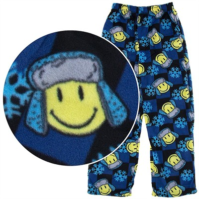 Fun Boxers Winter Smile Fleece Pajama Pants for Men