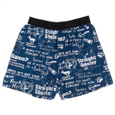 Fun Boxers Hunting Phrases Boxer Shorts for Men