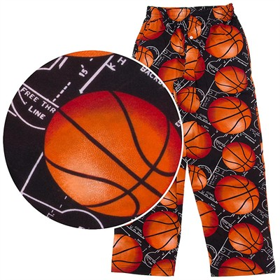 Fun Boxers Basketball Pajama Pants for Men