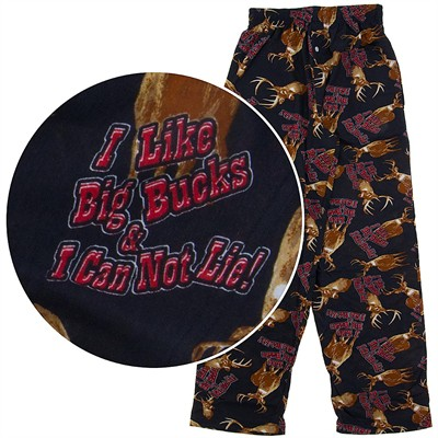 Fun Boxers I Like Big Bucks Pajama Pants for Men