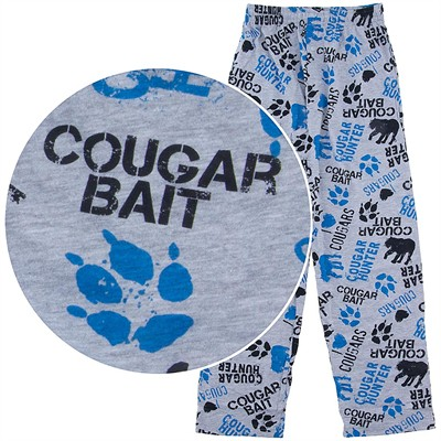 Fun Boxers Cougar Bait Lounge Pants for Men