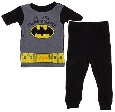 Future Crime Fighter Batman Pajamas for Toddler Boys