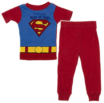 Future Man of Steel Pajamas for Toddler Boys