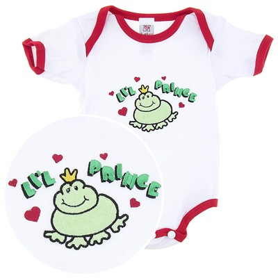 Ganz Lil' Prince Onesie for Baby Boys