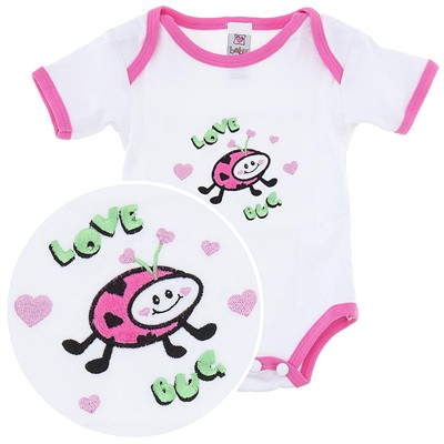 Ganz Love Bug Onesie for Baby Girls