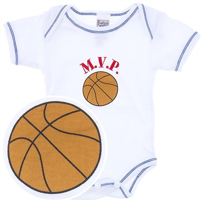 Ganz MVP Basketball Onesie for Baby Boys