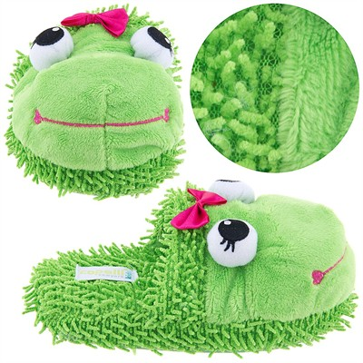 Green Frog Animal Slippers for Girls