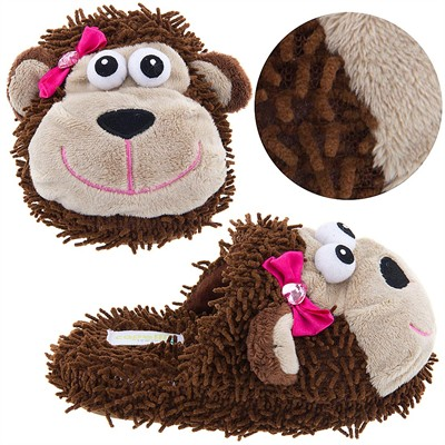 Monkey Animal Slippers for Girls