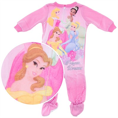 Disney Princess Dreams Footed Pajamas for Infant Girls