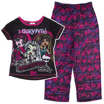 Monster High I Survived Pajamas for Girls