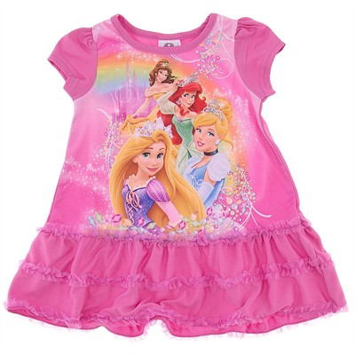 Disney Princess Nightgown Pink for Toddler Girls