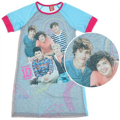 One Direction Blue Nightgown for Girls