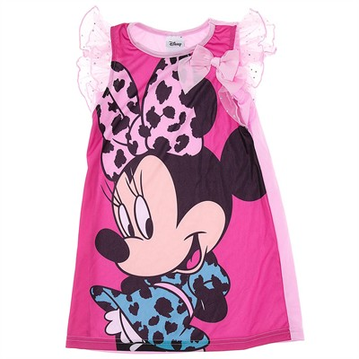 Minnie Mouse Pink Nightgown for Girls