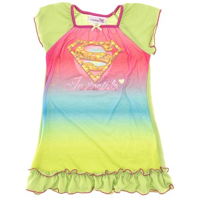 Supergirl Nightgown for Girls