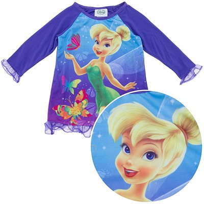 Tinker Bell Purple Nightgown for Toddler Girls