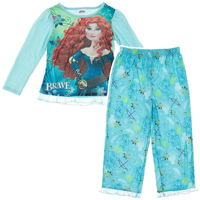 Brave Turquoise Pajamas for Girls