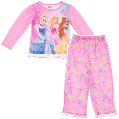 Disney Princess Pink Pajamas for Girls