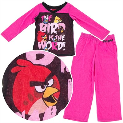 Angry Birds The Bird is the Word Pajamas for Girls