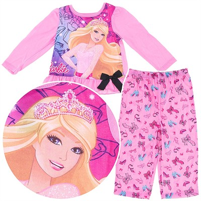Barbie Pink Pajamas for Toddler Girls