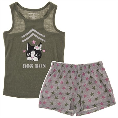 Rebecca Bonbon Shorty Pajamas for Girls