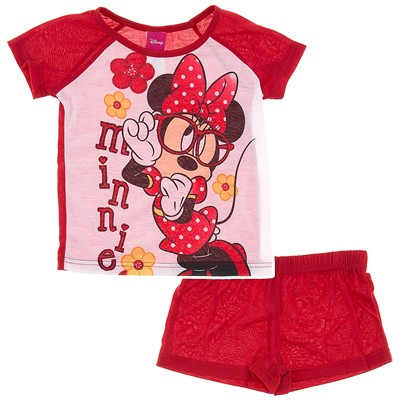 Minnie Mouse Red Pajamas for Girls
