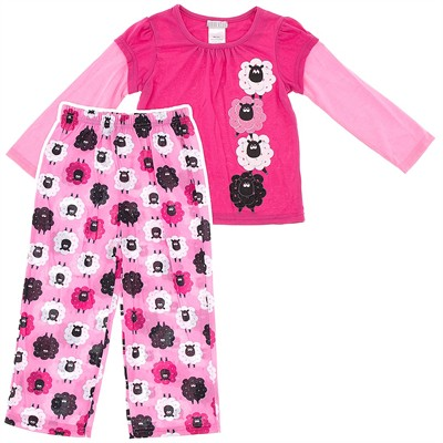 Pink Sheep Pajamas for Girls