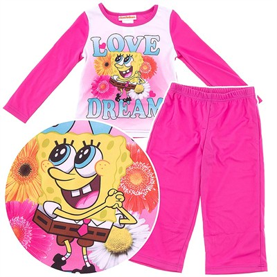 Spongebob Love Dream Pajamas for Girls
