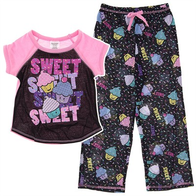 Cupcake Sweet Pajamas for Girls