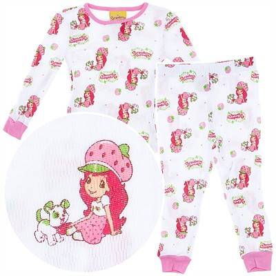 Strawberry Shortcake Thermal Pajamas for Toddler Girls