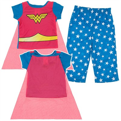 Wonder Woman Pajamas with Cape for Infant Girls