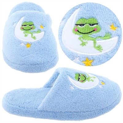 Blue Frog Slippers for Girls