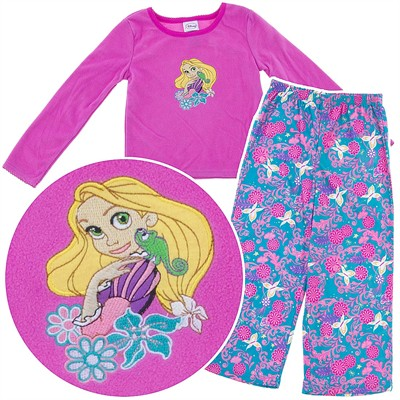 Tangled Fleece Pajamas for Girls