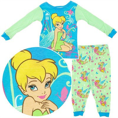 Tinker Bell Cotton Pajamas for Infant and Toddler Girls