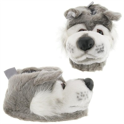 Wolf Animal Slippers for Women, Men and Kids