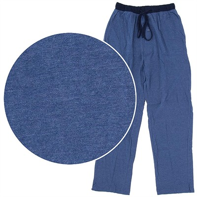 Hanes Blue Knit Pajama Pants for Men