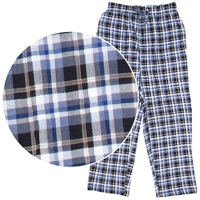 Hanes Plaid Cotton Knit Pajama Pants for Men