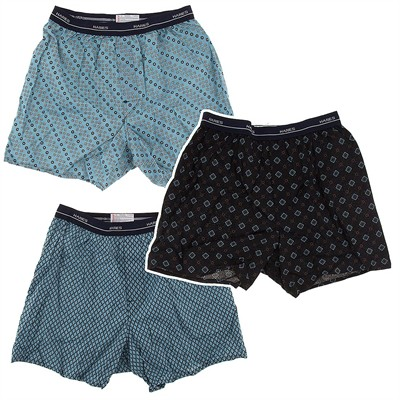 Hanes Set of 3 Boxer Shorts for Men