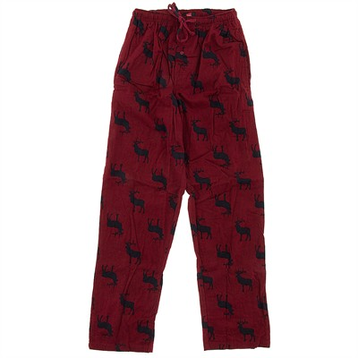 Hanes Red Moose Pajama Pants for Men