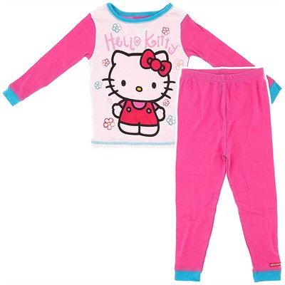 Hello Kitty Cotton Pajamas for Girls