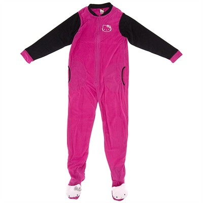Hello Kitty Pink Footed Pajamas for Women