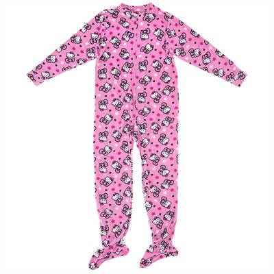 Hello Kitty Pink Footie Pajamas
