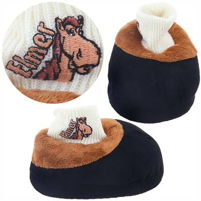 Horse Animal Feet Neighing Slippers for Toddlers and Kids