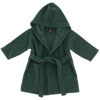 Hunter Green Fleece Robe for Infant Boys