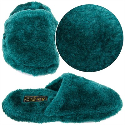 Hunter Green Slip On Slippers for Women
